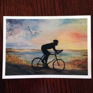 5x7 postcard Sea Gull Century 2014 print