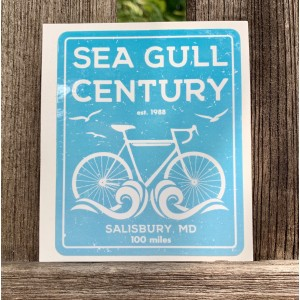 SGC Bike & Beach Sticker (Blue)