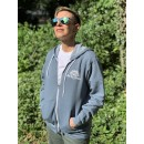 SGC Fleece Zip-Up Front View