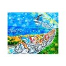Sea Gull Century Print (2006) - Flock of Cyclists - by Todd Berman