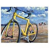 Sea Gull Century Print (2007) - Jim's Bike - by Annie Marcotte
