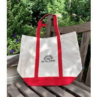 SGC Bicycle Spoke Graphic Canvas Tote, Front View